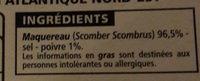 FILETS DE MAQUEREAUX FUMES AU BOIS DE HËTRE AU POIVRE - Product - fr