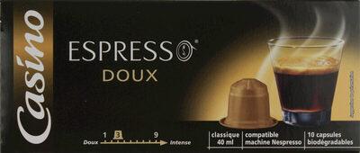 Capsules de café - Doux - Produkt - fr