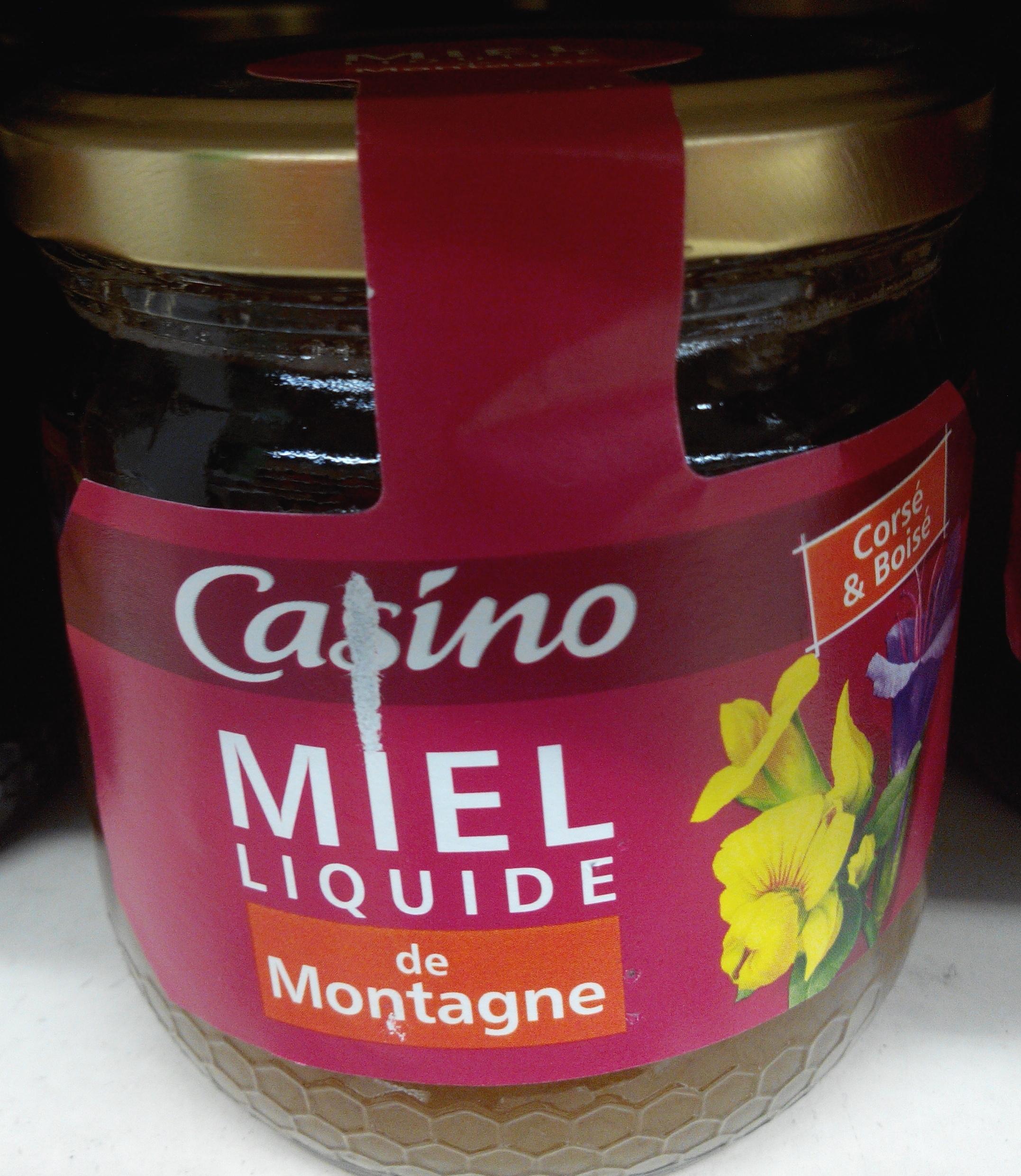 Miel liquide de montagne - Produit