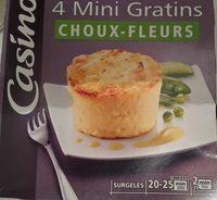 4 Mini Gratins Choux-fleurs - Product