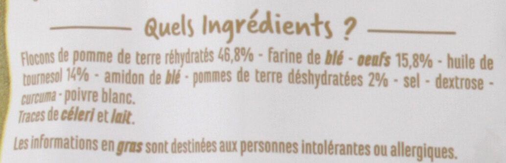Pommes Dauphine - Ingrédients - fr