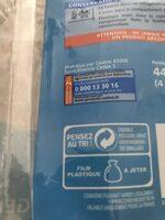 Coquilles de fruits de mer - Recyclinginstructies en / of verpakkingsinformatie - fr