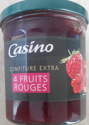Confiture extra 4 fruits rouges - Produit