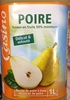 POIRE  Teneur en fruits 50% minimum - Produit