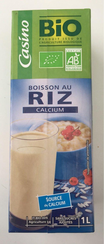 Boisson Riz Calcium - Product
