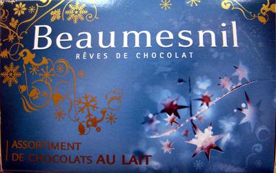 Rêves de chocolat Assortiment de chocolats au lait Beaumesnil - Product - fr