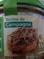 Terrine de Campagne Bio - Produit - fr