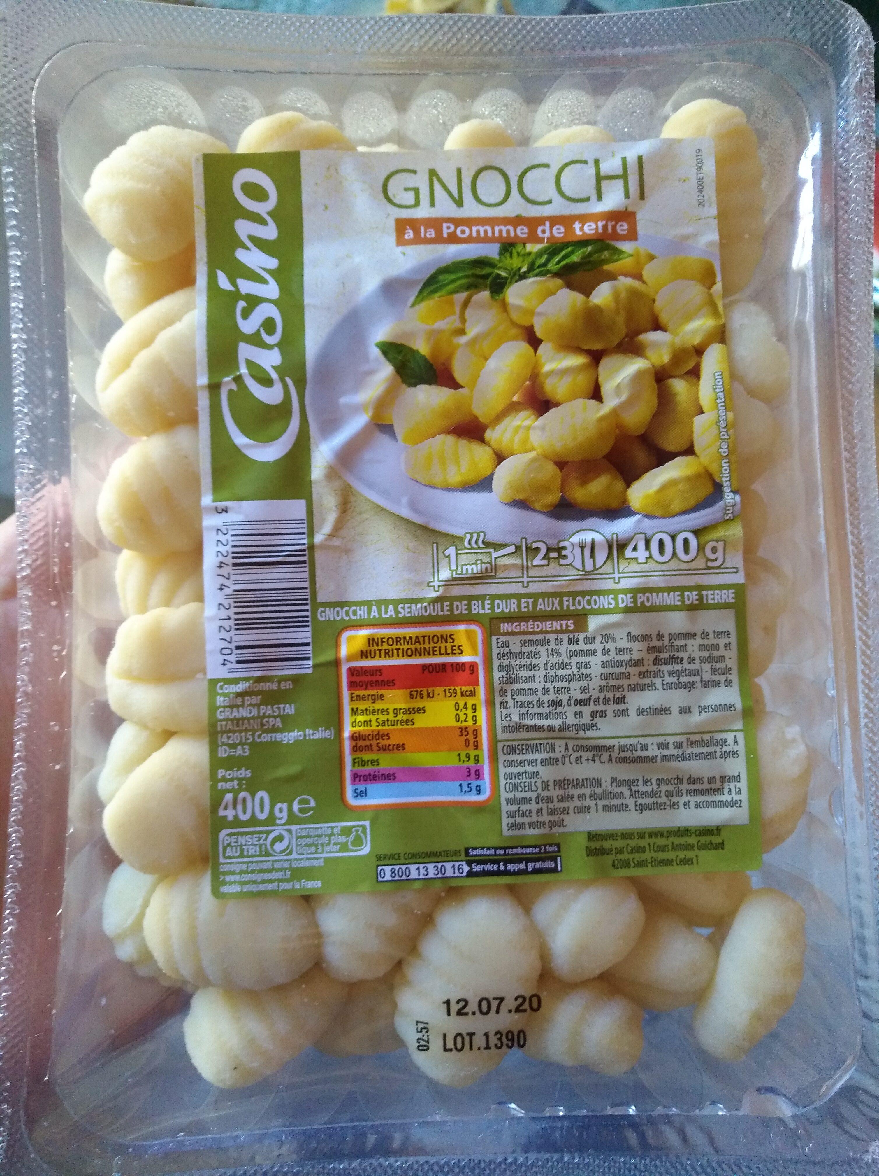 Gnocchi à la Pomme de terre - Produkt - fr