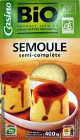 Semoule semi-complète Bio Casino - Product - fr