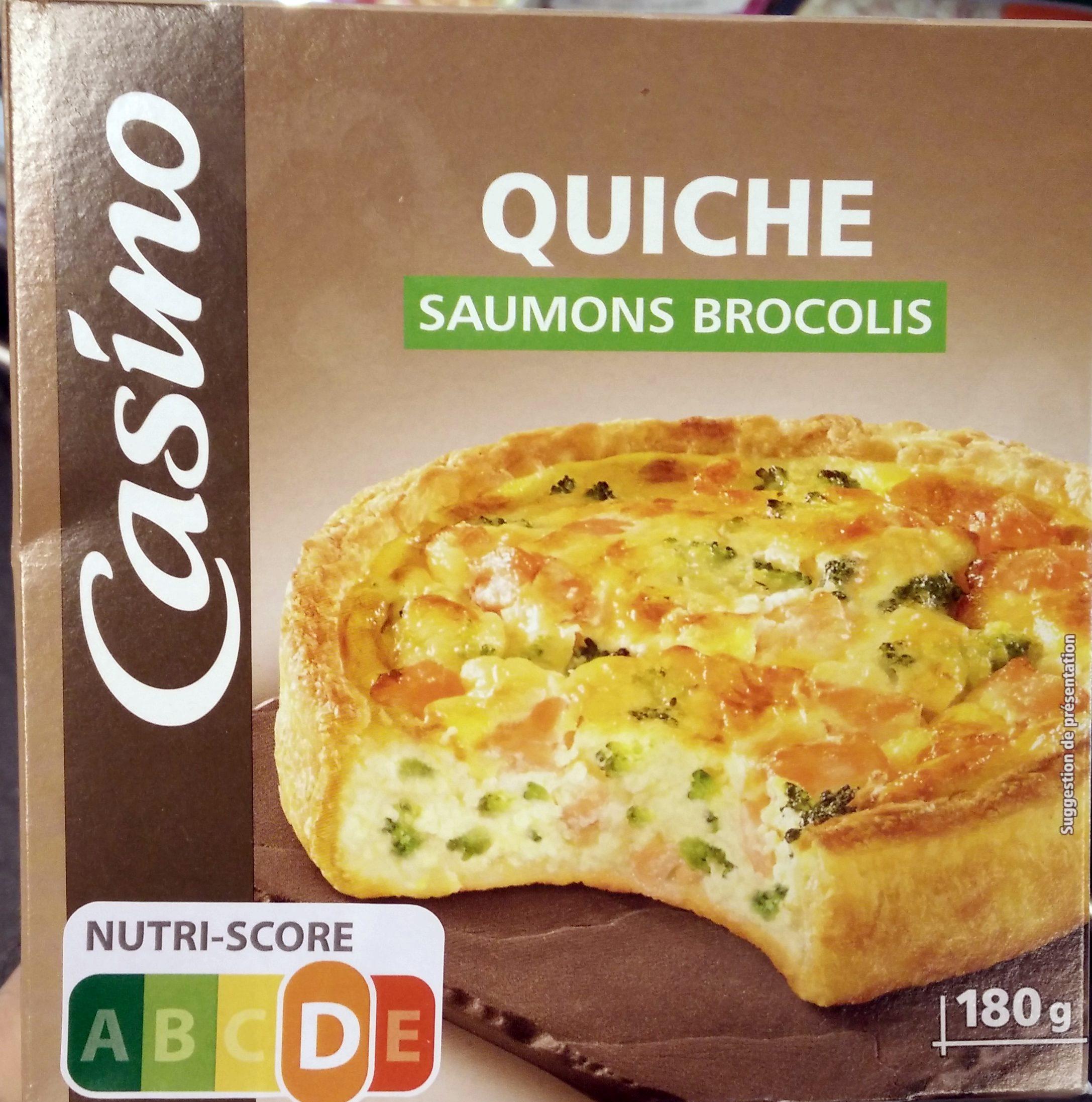Quiche saumon bocolis - Produit - fr