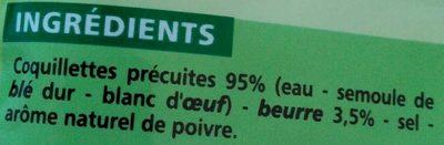 Coquillettes au Beurre - Ingredients - fr