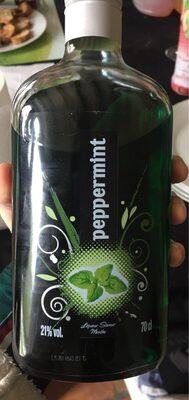 Liqueur saveur menthe 21% vol - peppermint - Produit