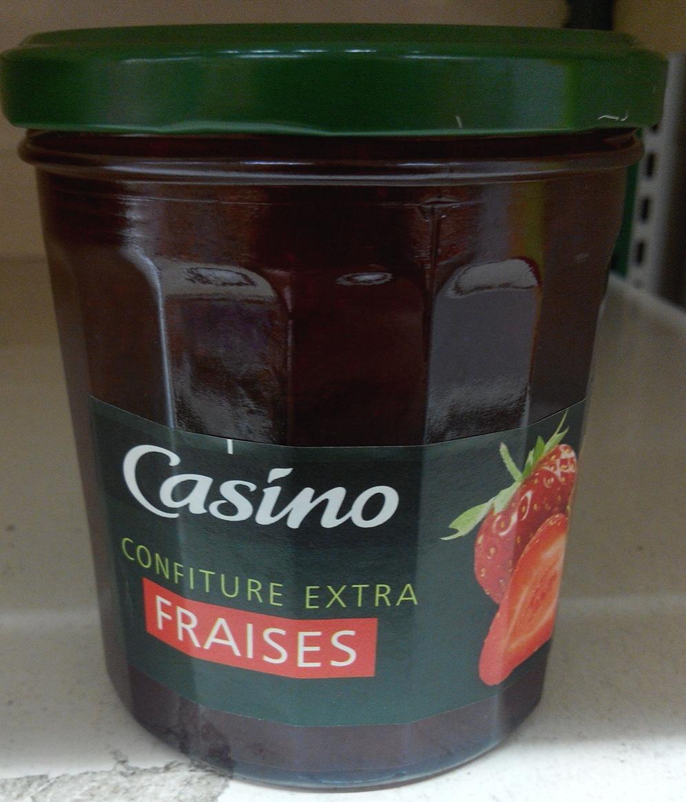 Confiture extra fraises - Product