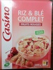 Riz & blé complet - Fruits rouges - Producto