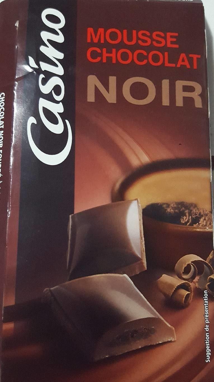 Les desserts du chocolatier- Mousse Chocolat noir - Product