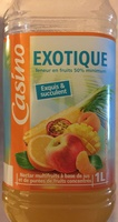 Exotique - Teneur en fruits 50% minimum - Nectar multifruits à base de jus et de purées de fruits concentrés - Product