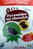Pyramides au chocolat - Product