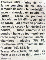 Pyramides au chocolat - Ingredients - fr