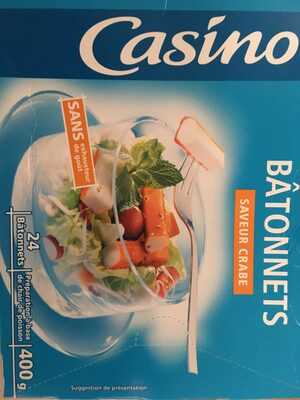 Bâtonnets saveur crabe - Produit