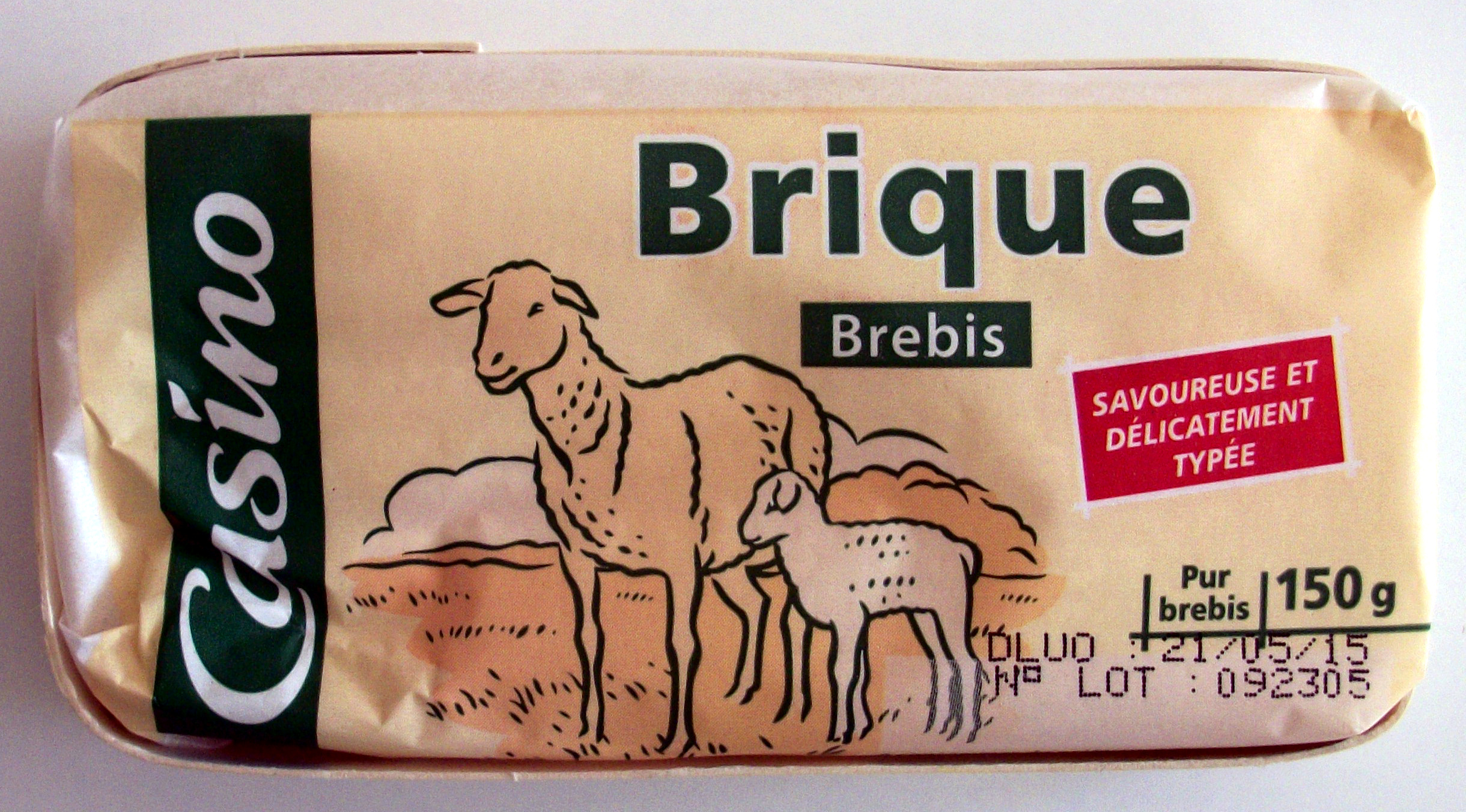 Brique brebis - Product - fr