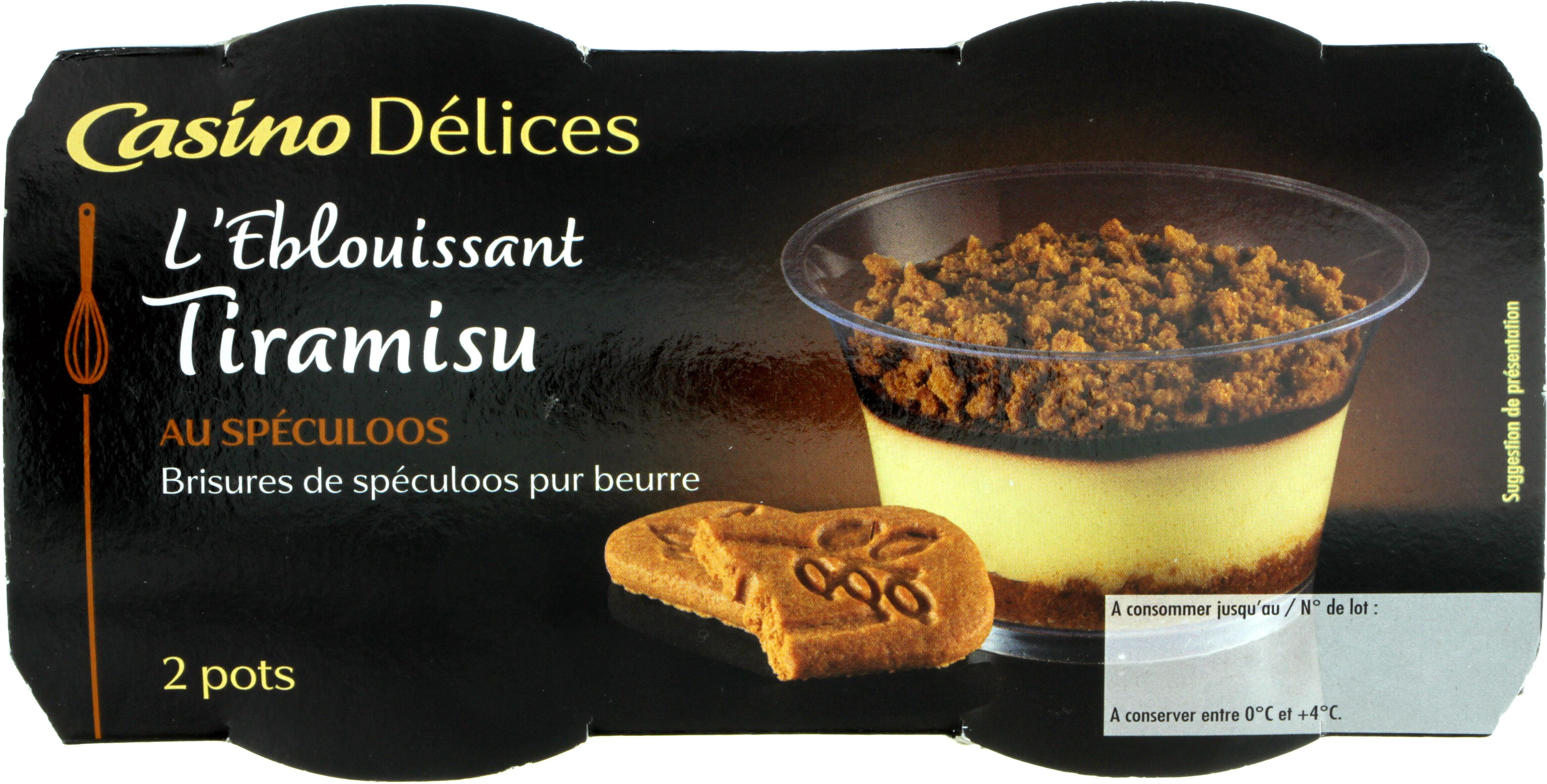 L'éblouissant Tiramisu au spéculoos - Brisures de spéculoos pur beurre - Product