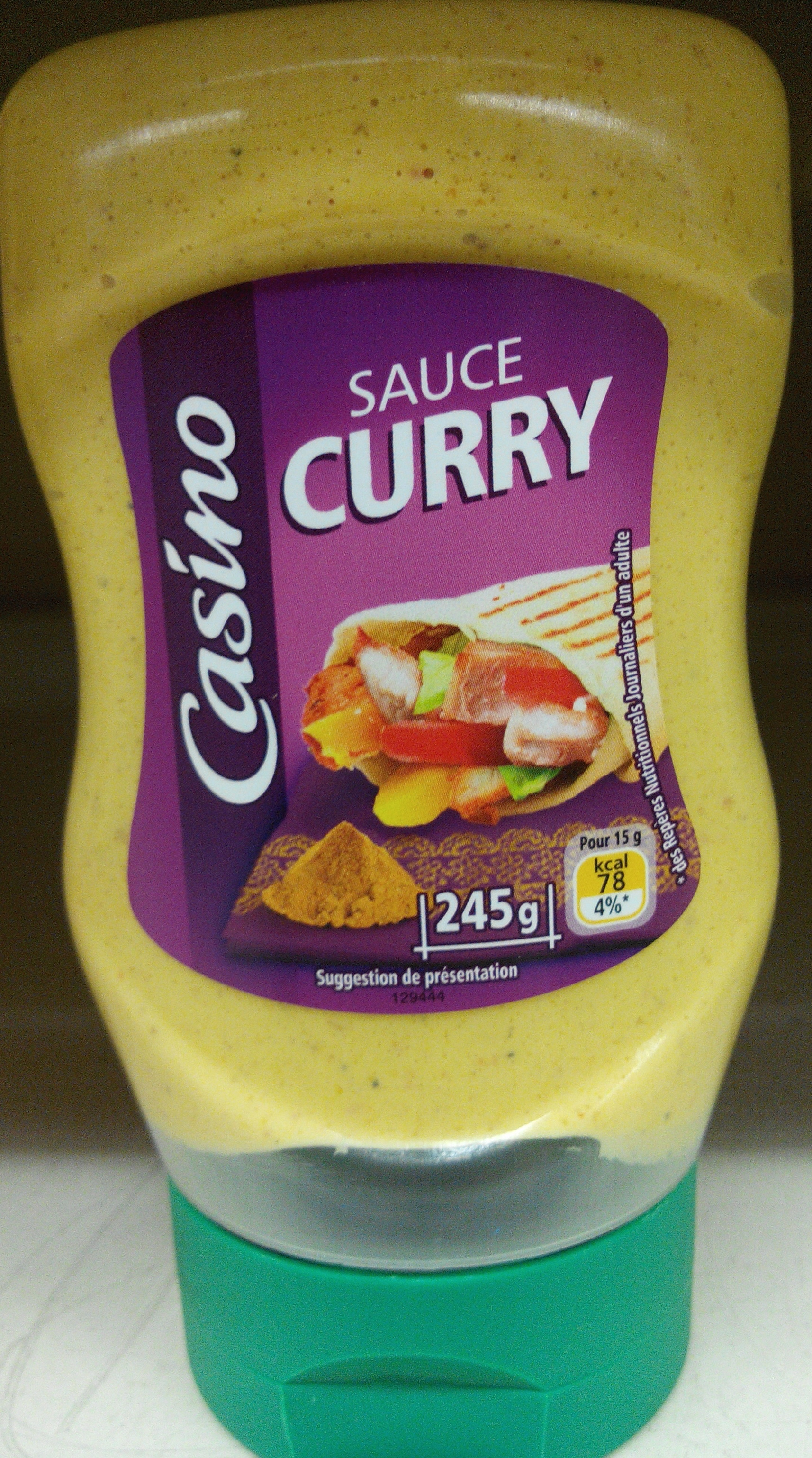 Sauce Curry - Product