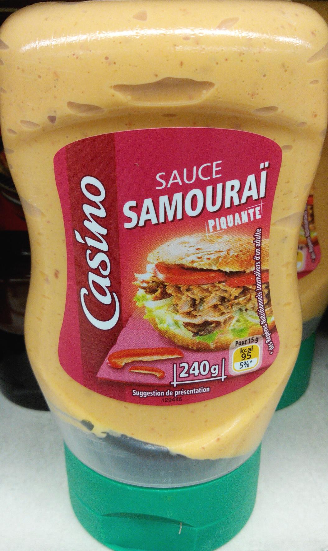 Sauce samouraï piquante - Produit