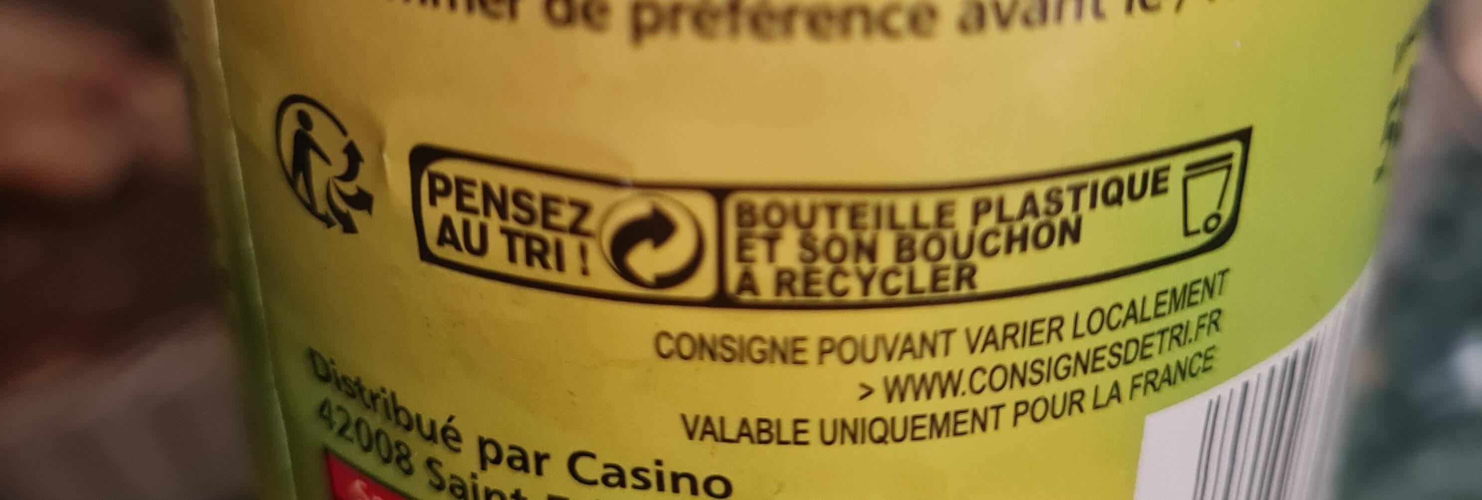 Sauce Caesar - au Grana Padano - Recyclinginstructies en / of verpakkingsinformatie - fr