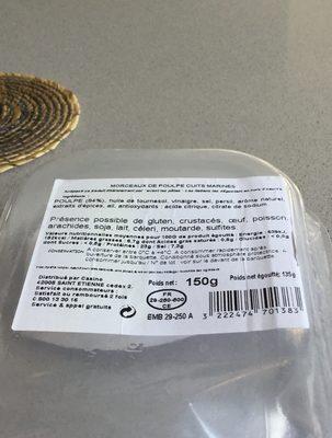 Marinade poulpe - Ingredients - fr