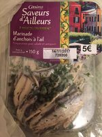 Marinade d'anchois a l'ail - Product