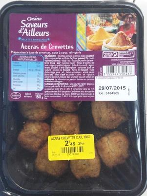 Accras de crevettes - Product