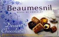 Rêves de chocolat Les desserts du chocolatier Beaumesnil - Product