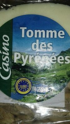 Tomme des Pyrénées IGP - Produit - fr