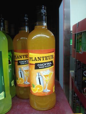 Cocktail sans alcool planteur - 2