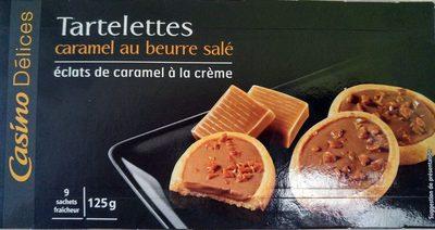 Tartelettes Caramel au beurre salé - Product