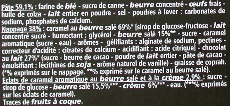 Tartelettes Caramel au beurre salé - Ingrediënten