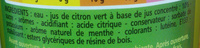Mojito sans alcool - Ingrediënten
