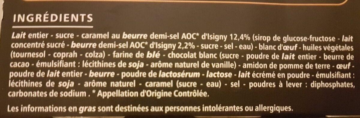 Tartelette Caramel au beurre demi-sel - Ingrediënten - fr