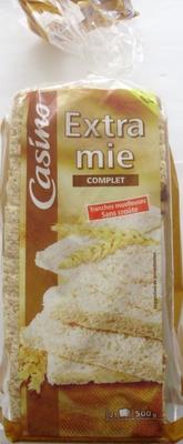 Extra mie Complet - sans croûte - 21 tranches - Produit