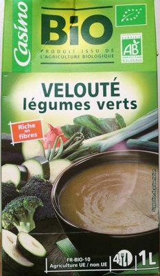 Velouté de légumes verts Bio - Product - fr