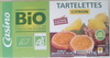 Tartelettes citron bio - au sucre de canne - Product