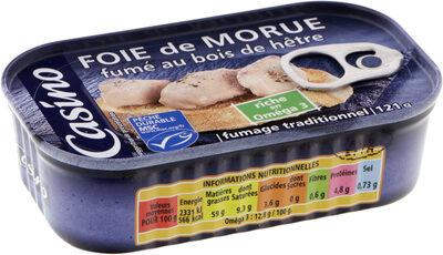 Foie de morue fumé au bois de hêtre MSC - Product - fr