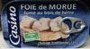 Foie de Morue fumé au bois de hêtre - Produit