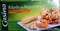 Râpés de légumes Pommes de terre - Courgettes - Carottes - Product