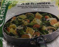Poêlée legumes & pommes de terre - Fermière - surgelée - Product