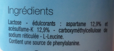 Édulcorant de table - Ingredients