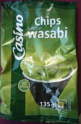 Chips saveur wasabi - Produit