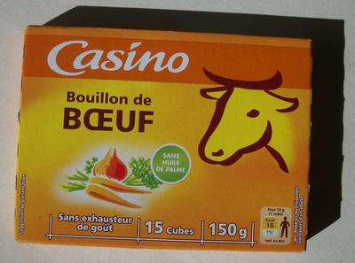 Bouillon e cube de bœuf - Produit - fr