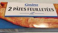 2 Pâtes feuilletées - Product - fr