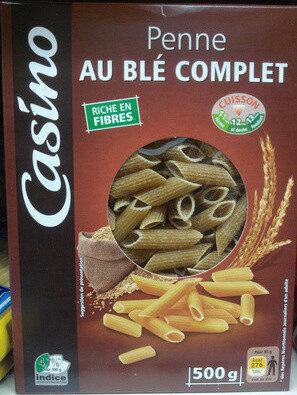 Penne rigate au blé complet Casino - Product - fr